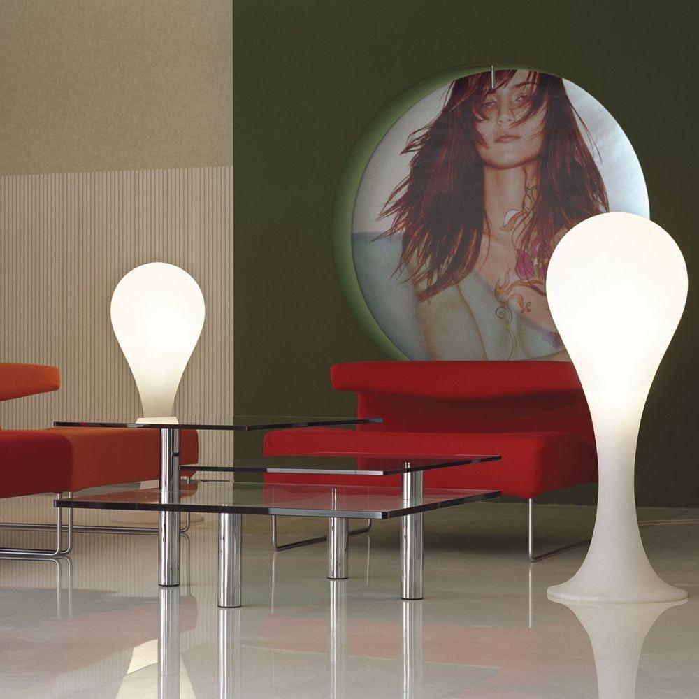 Drop_4 Tischleuchte H: 40cm Liquid-Light Weiß 3