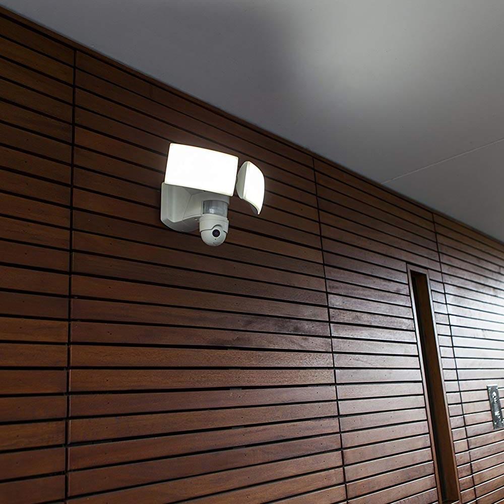 Lutec Kamera LED-Außenwandleuchte Libra IP44 3000lm Weiß thumbnail 3