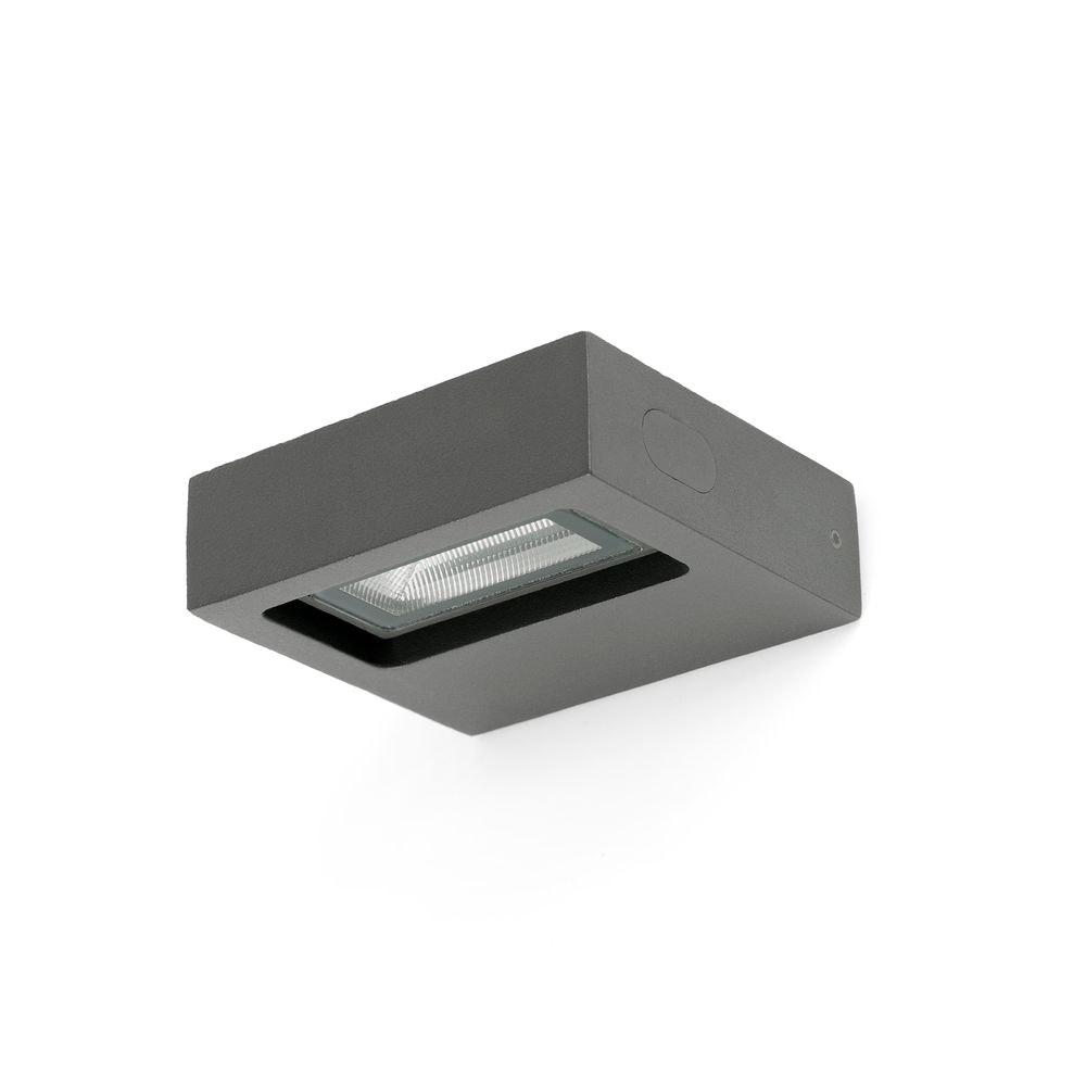 LED Außenwandleuchte TAIMA 3000K IP54 Dunkelgrau 2