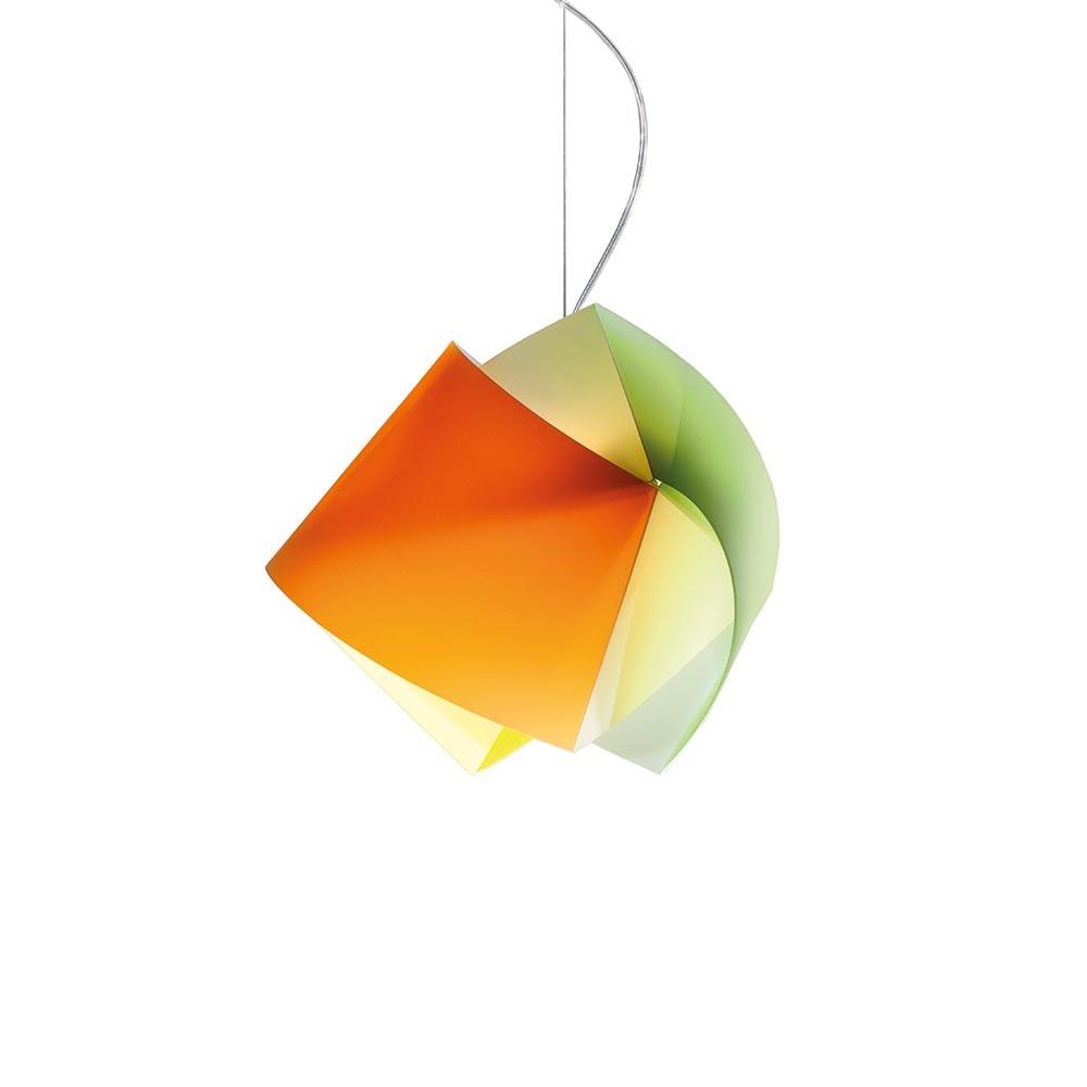 Slamp Hängelampe Gemmy Orange, Grün, Gelb
