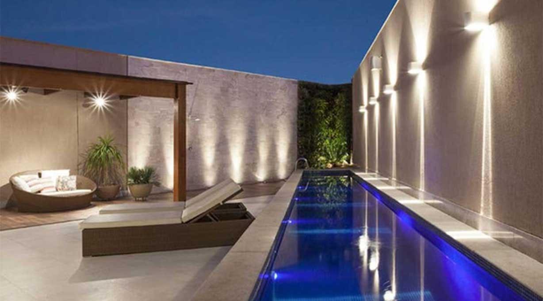 IXA LED Außenwandleuchte Garten Pool