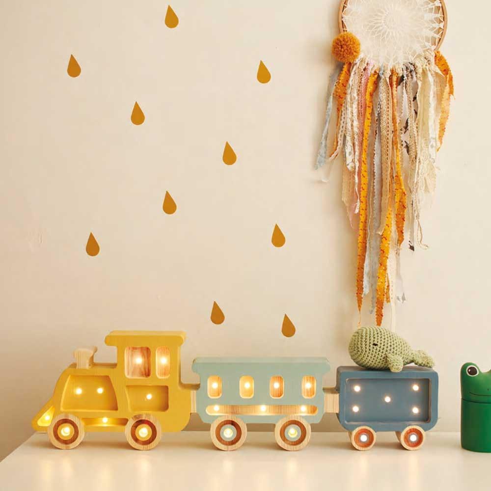 Little Lights Kinder-Tischleuchte Zug  1