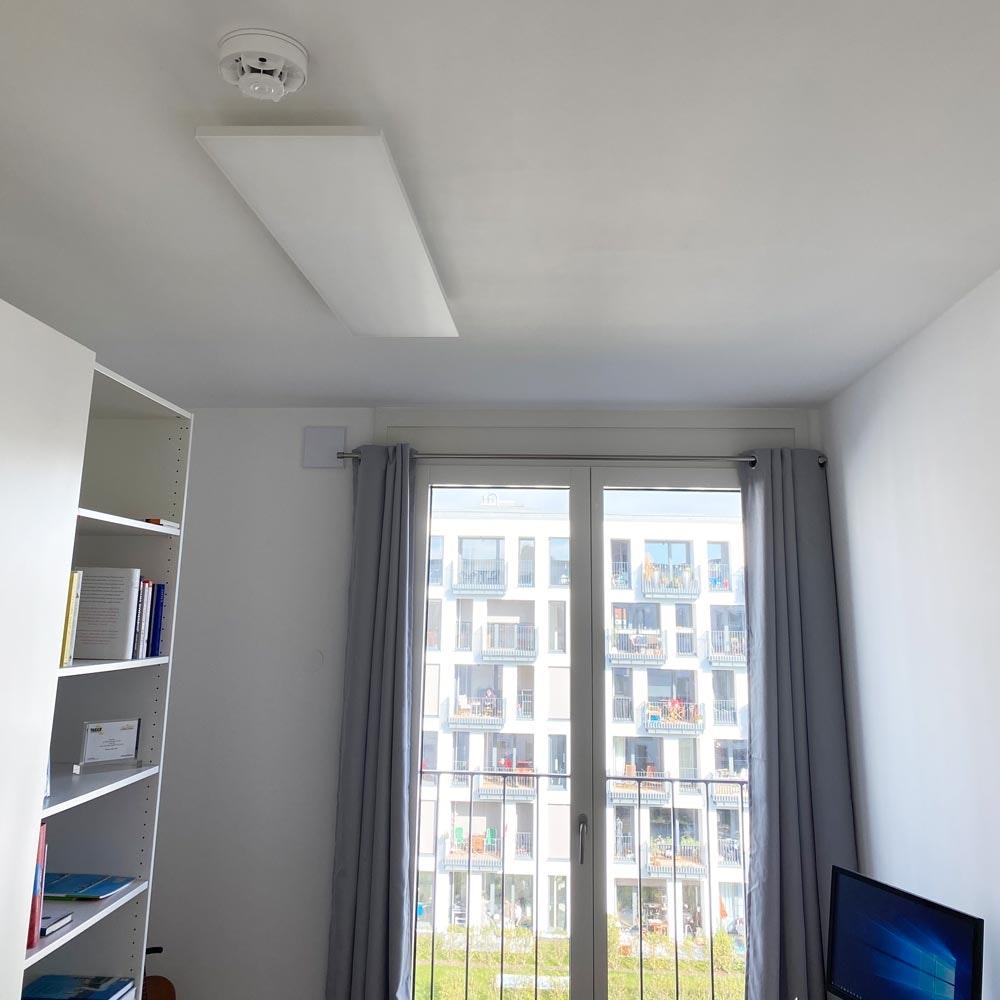 Q-Flat 2.0 rahmenlose LED Deckenaufpanel 120 x 30cm 3000K thumbnail 6