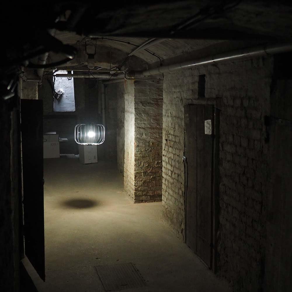 s.LUCE Rooms L direkt & indirekte Gitter-Hängeleuchte Ø 48cm 10