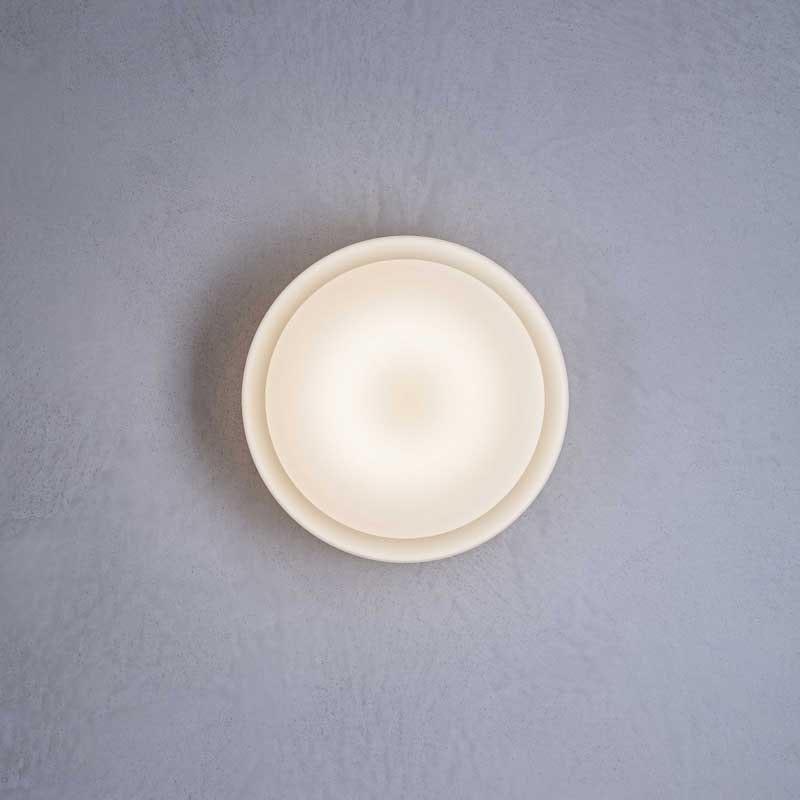 Prandina schlichte LED Wandleuchte & Deckenlampe Mint C3/W3