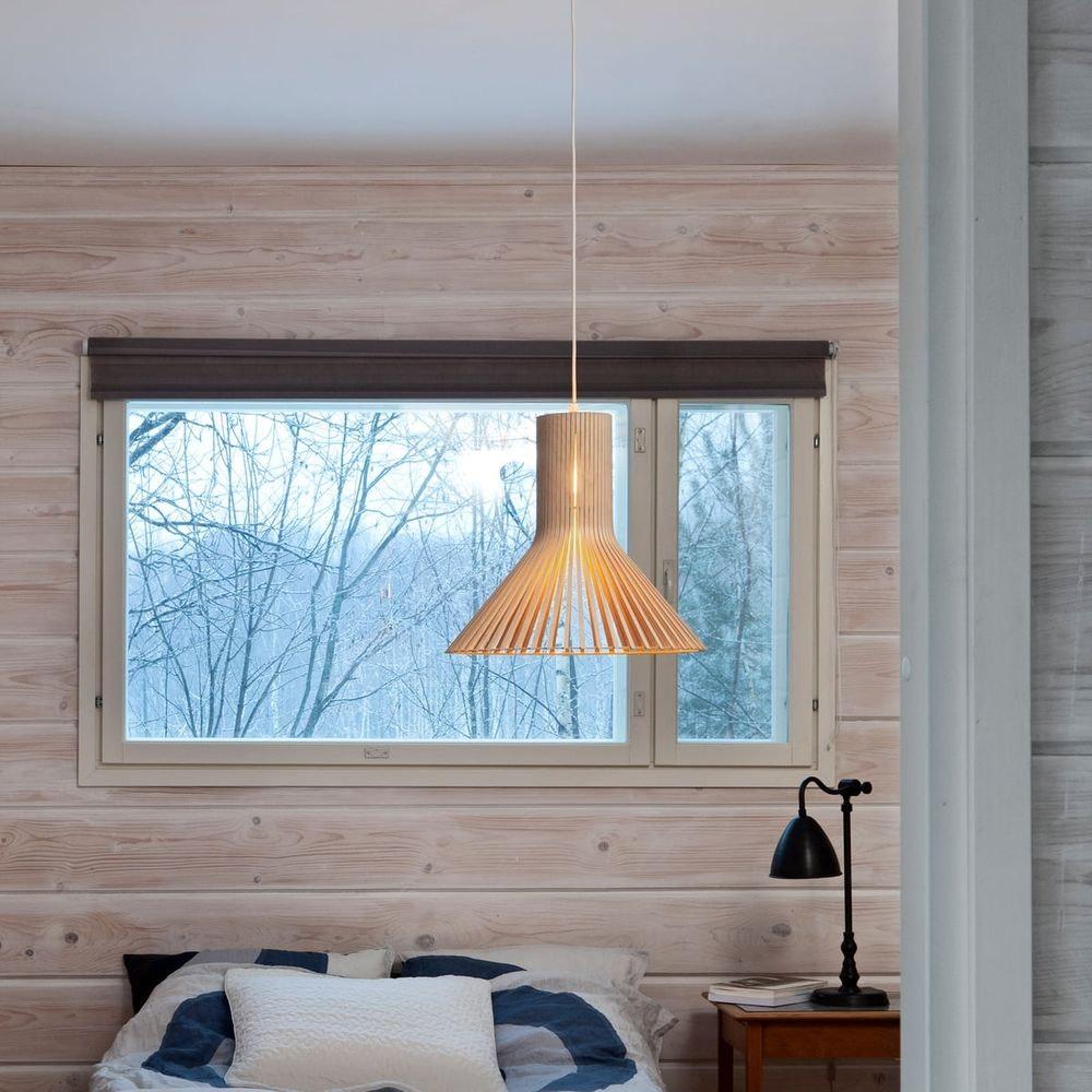 Pendelleuchte Puncto 4203 aus Holz Ø 45cm