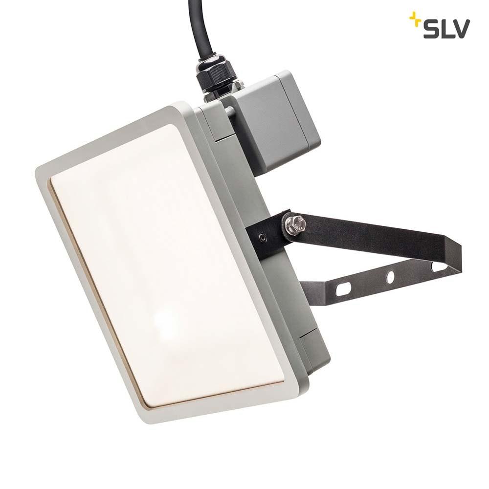 SLV Almino LED Aussen-Wandleuchte Grau IP65 2
