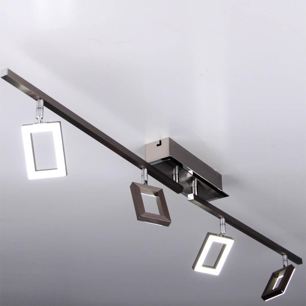 Inigo LED Deckenleuchte Stahl 3