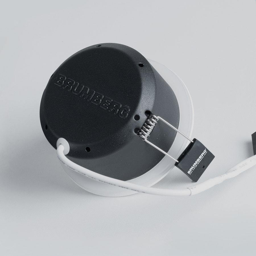 Brumberg LED Decken-Einbauleuchte Indiwo83 Nickel-Matt dim2warm 6
