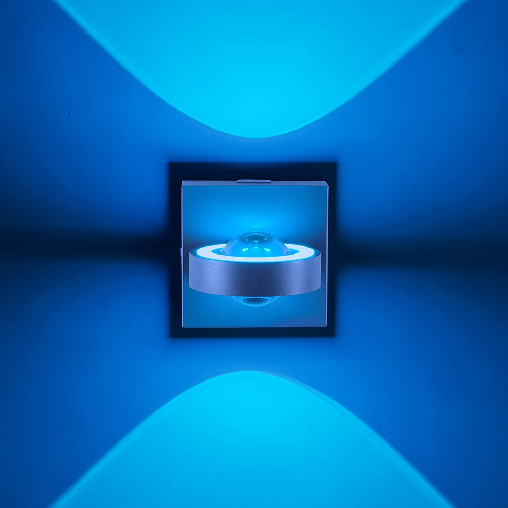 LED Wandlampe Q-Mia RGB+CCT Anthrazit thumbnail 6