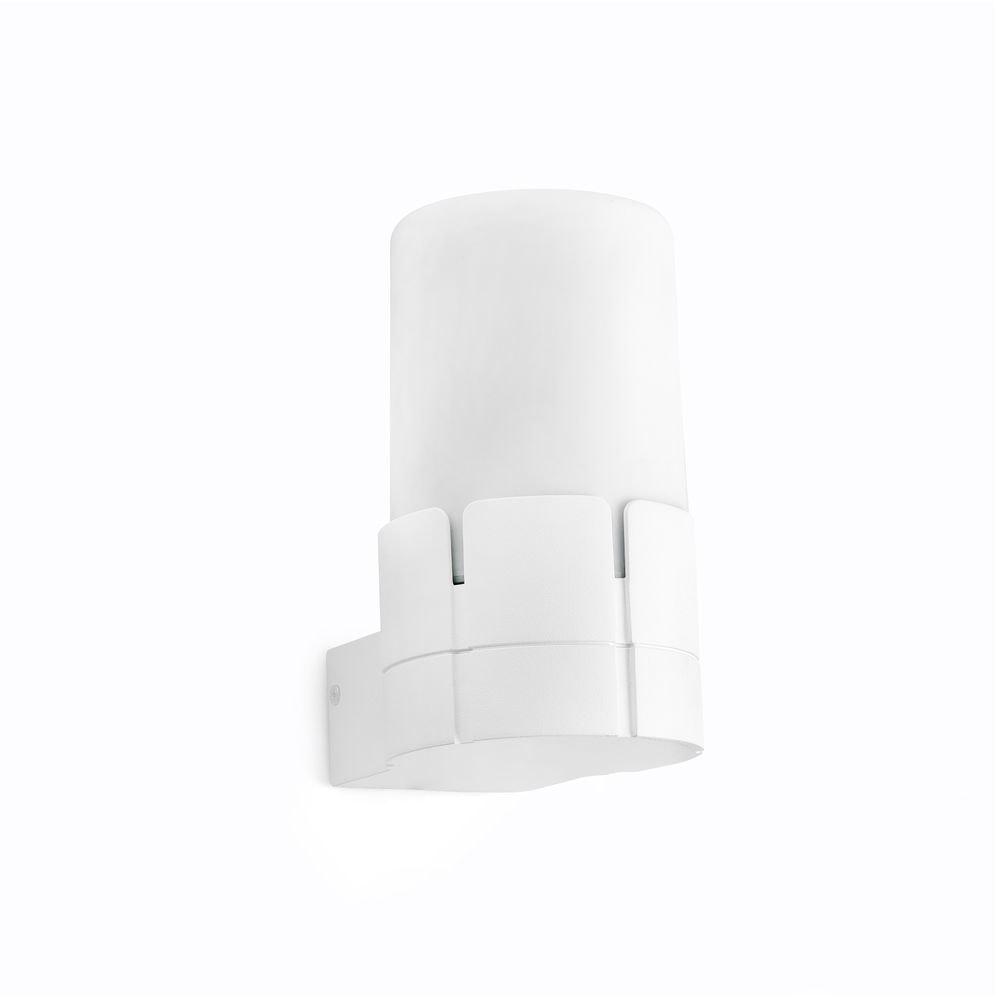 Außenwandlampe TRAM IP44 Weiß