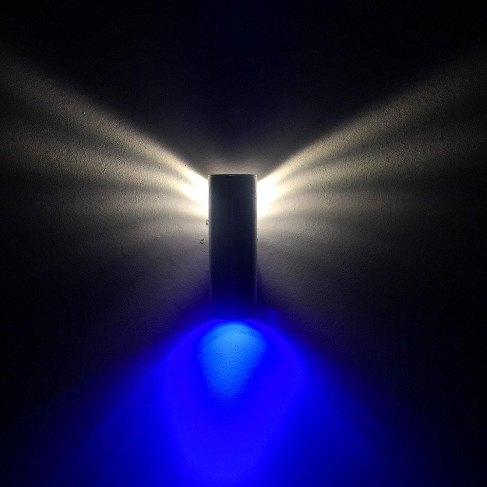 s.LUCE Wings Wandleuchte mit Wow-Lichteffekt Chrom 7