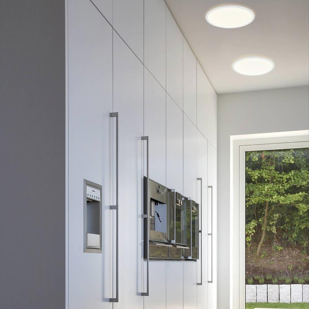 LED Deckenleuchte Board 42 Direkt & Indirekt 2700K Dimmbar per Schalter Weiß thumbnail 4
