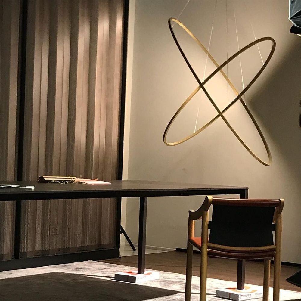 Nemo Ellisse Double Mega LED Hängeleuchte 186x95cm thumbnail 6