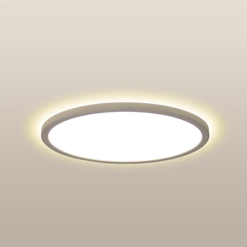 LED Deckenlampe Board 29 Direkt & Indirekt 2700K Dimmbar per Schalter Weiß