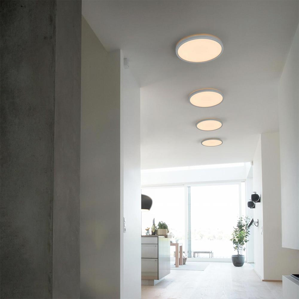 Nordlux LED Wand- & Deckenlampe Oja 42 2700K Weiß 4