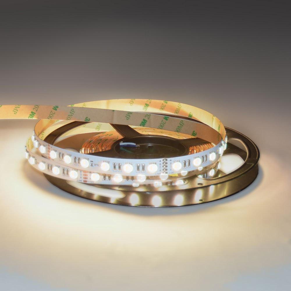 19,2 W/m RGBW Warmweiß 24V 5m LED-Strip IP20 2