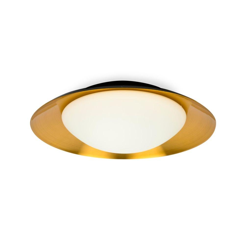 LED Deckenleuchte SIDE 20W Schwarz, Kupfer