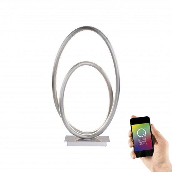 LED Tischleuchte Q-Nevio CCT Smart Home