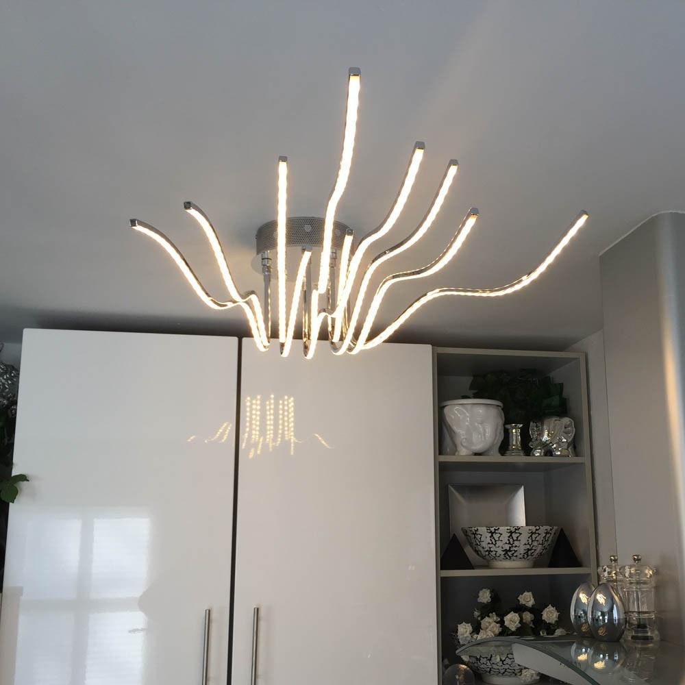 Sculli Design LED-Deckenleuchte mit Metallarmen thumbnail 6