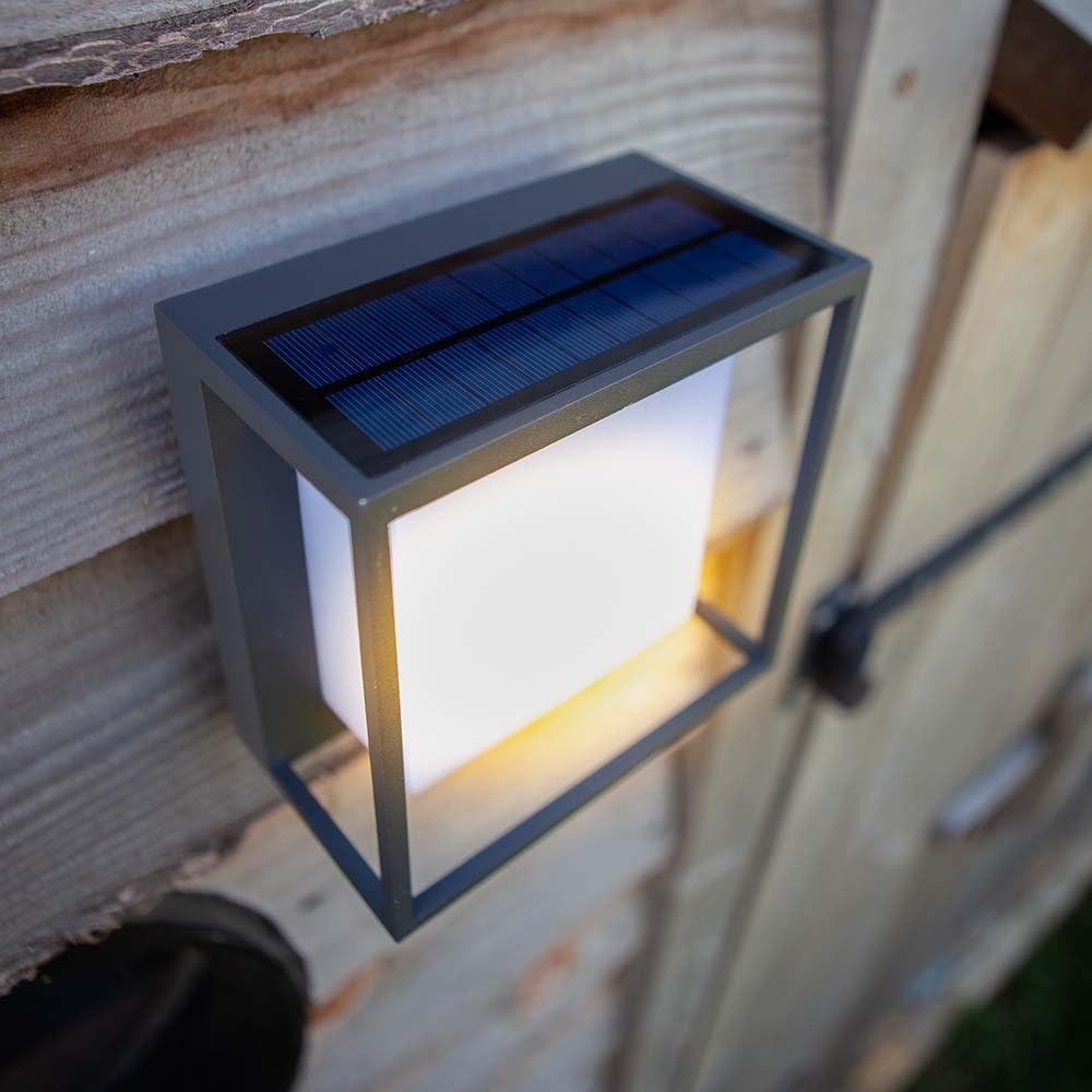 LED-Solar-Außenleuchte Curtis mit Bewegungsmelder 5