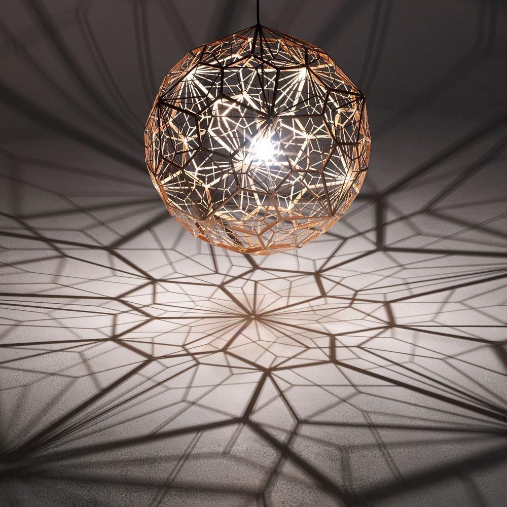 Tom Dixon Etch Web Effekt Pendelleuchte Ø 60cm 1