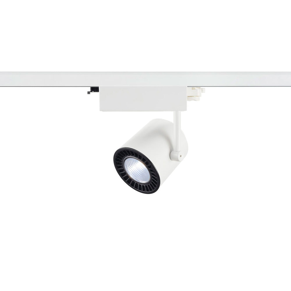 SLV Supros Track 4000 LED Spot inkl. 3P.-Adapter 3150lm 3000K Weiß thumbnail 3