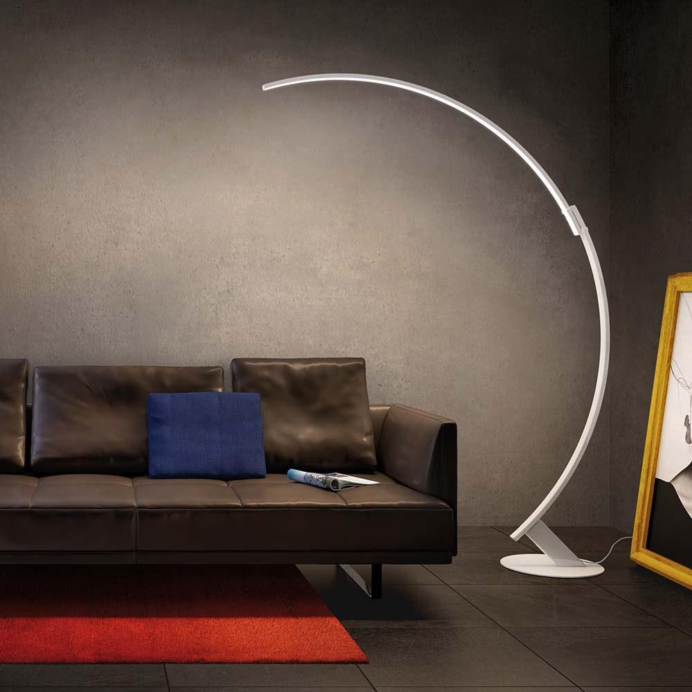 Kundalini LED Bogen-Stehlampe Kyudo Dimmbar thumbnail 3