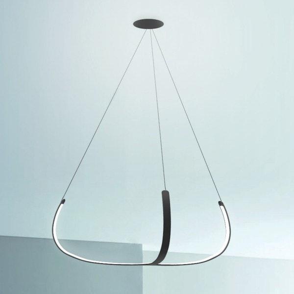 Nemo Alya futuristische LED Hängelampe Ø 100cm 2