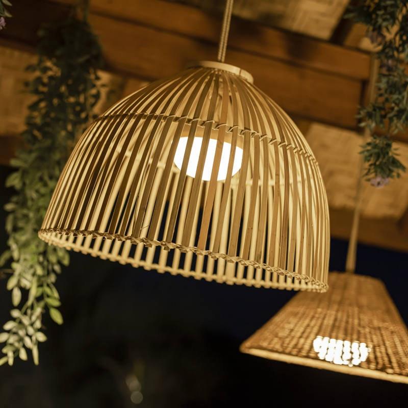 Licht-Trend Reona nachhaltige LED-Pendelleuchte IP54 1