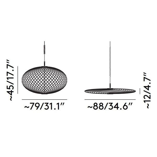 Tom Dixon Spring LED Hängelampe ausziehbar thumbnail 4