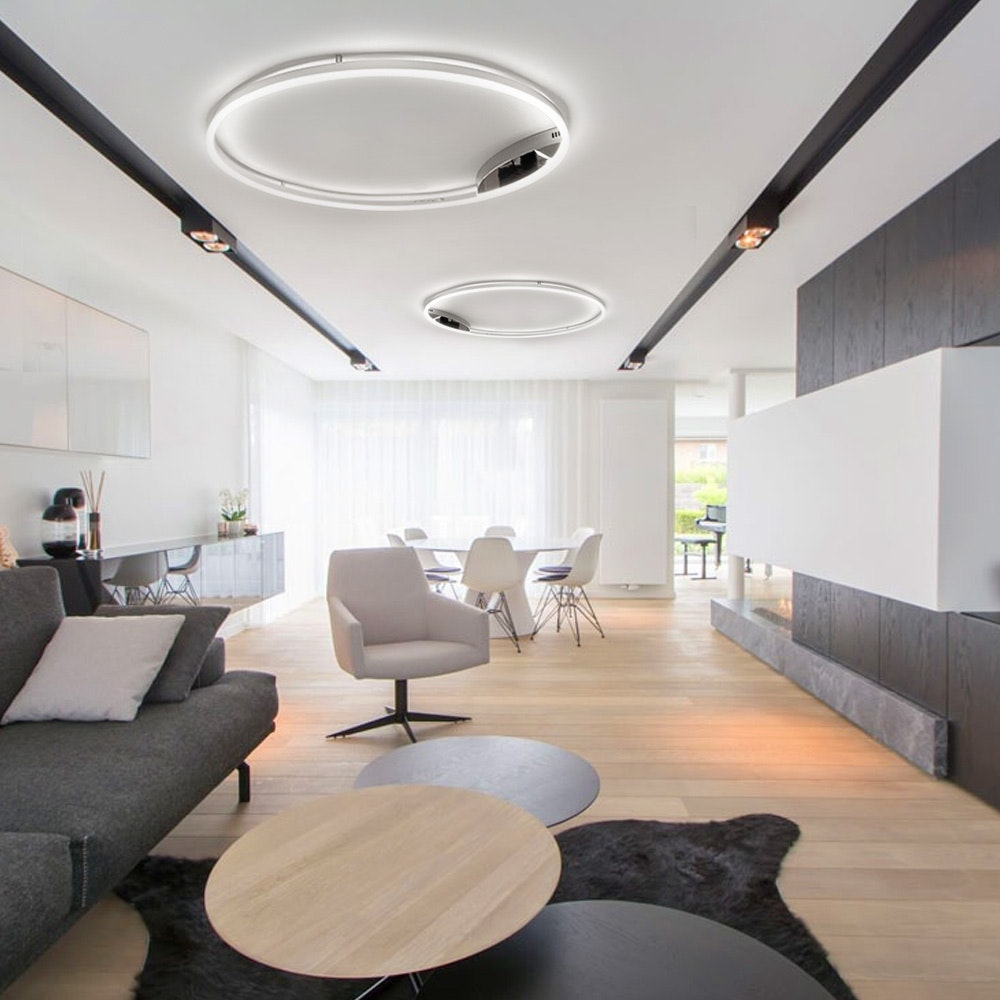 s.LUCE Ring 80 Wand & Deckenlampe LED Dimmbar 14