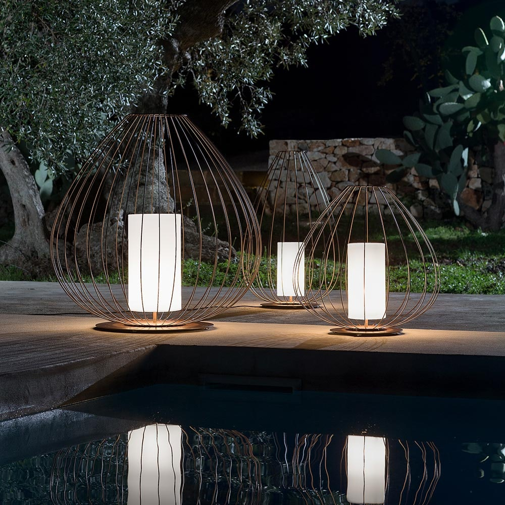Karman Cell Outdoor-Bodenlampe IP65