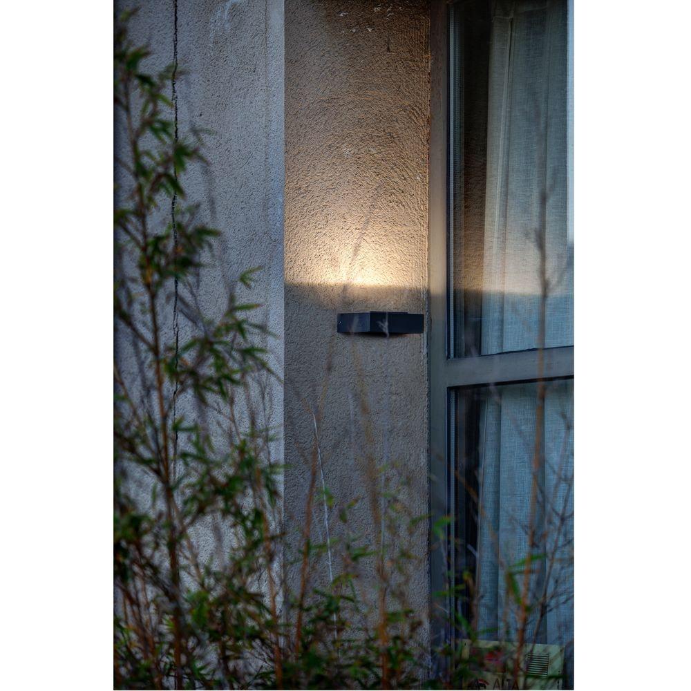 LED Außenwandleuchte TAIMA 3000K IP54 Dunkelgrau 4