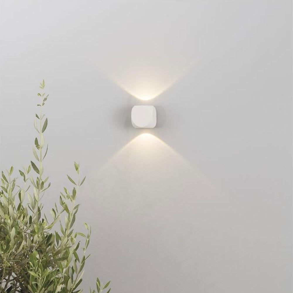 Nova Luce Zari Mini Wandleuchte 5cm Lichtstrahlen IP54 thumbnail 3