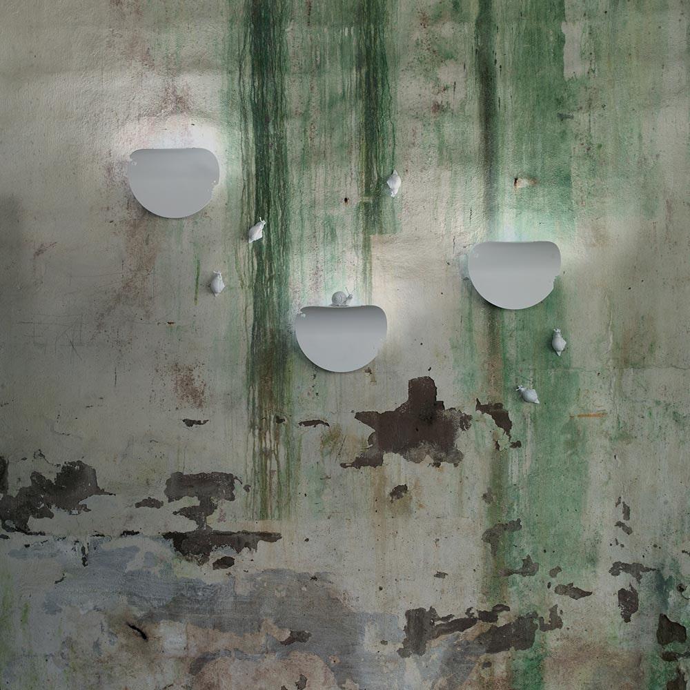 Karman Va-Lentina Wandleuchte Weiß (ohne Schnecke) 2