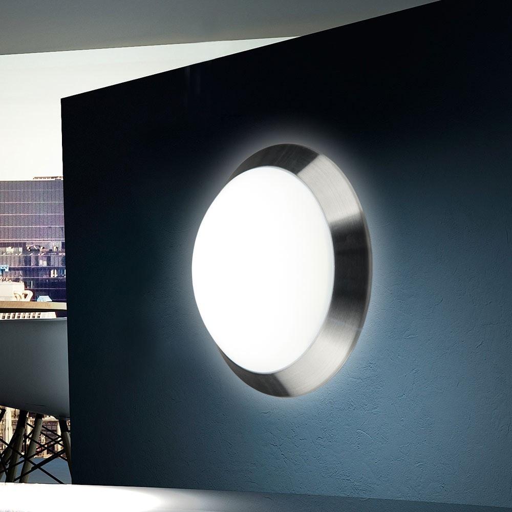 Brose LED Deckenleuchte mit gewölbtem Kunststoffschirm