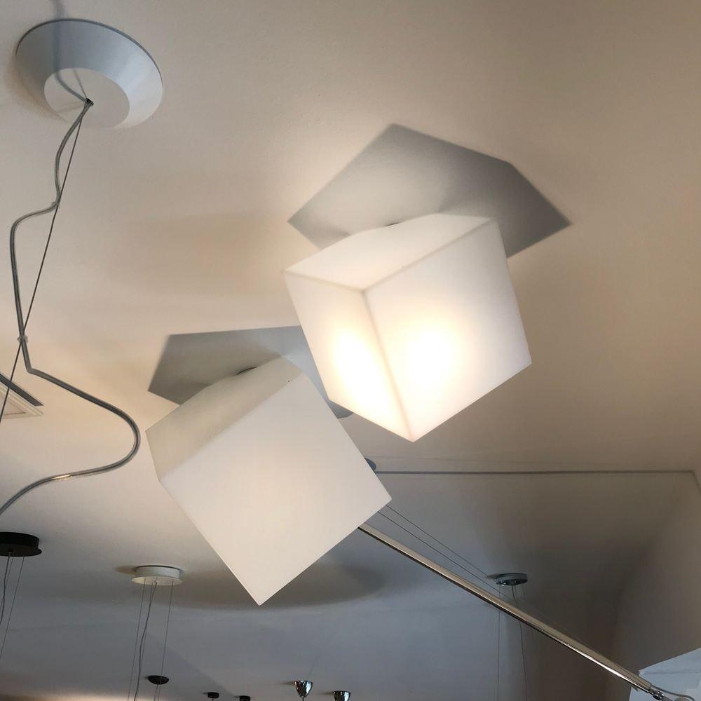 Artemide Edge Wand- oder Deckenlampe Würfel 2