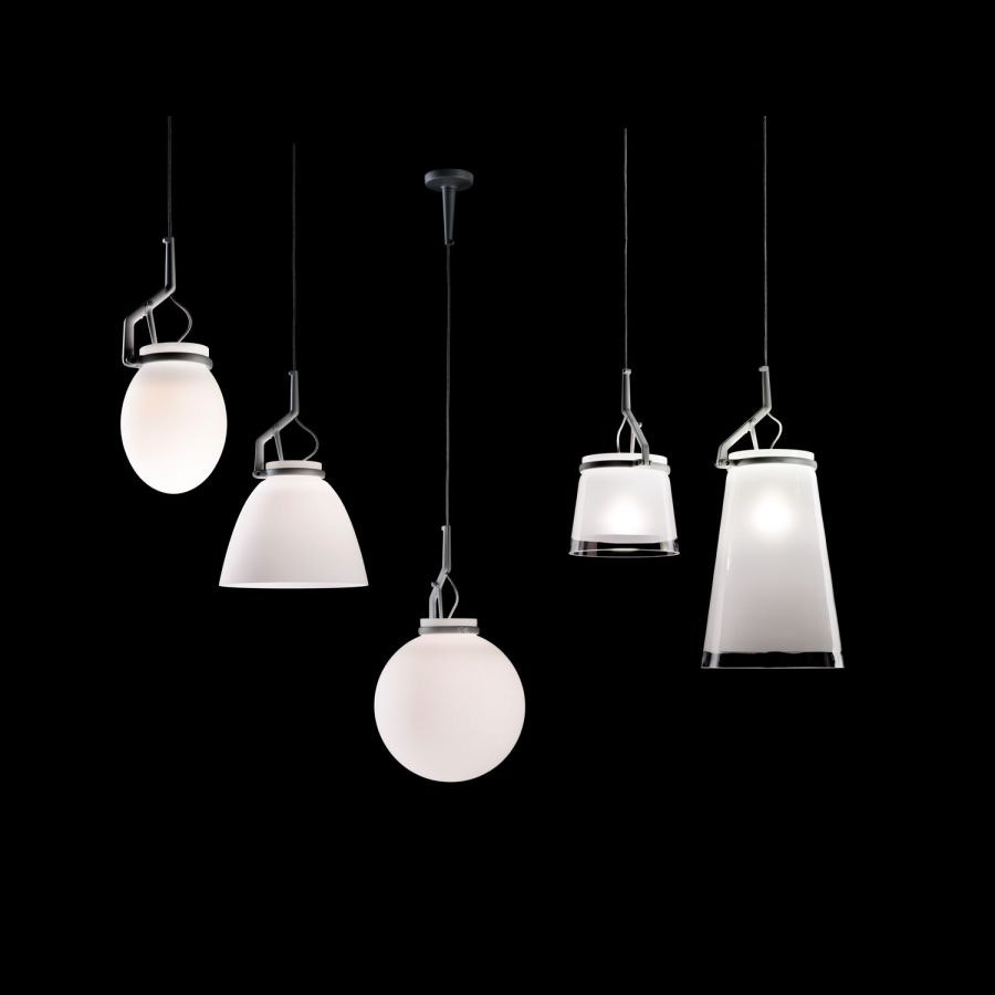Luceplan Glassglass Diffuser Small Opalweiß thumbnail 3