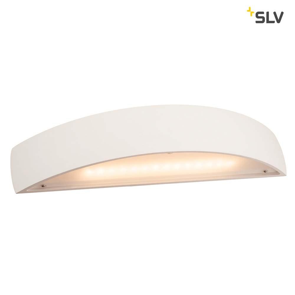 SLV Plastra Gips Wandleuchte LED 3000K Gewölbt Up/Down Dimmbar 4