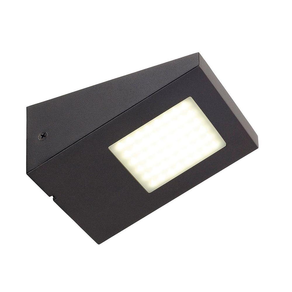 SLV IPERI WL Wandleuchte anthrazit 48 LED Neutralweiß 4000K 1