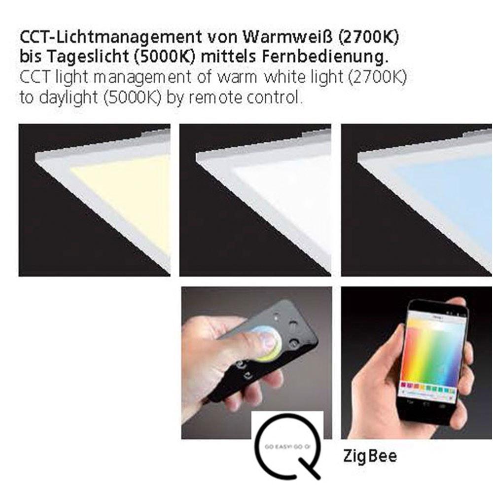 LED Deckenlampe Q-Flag 25W CCT Weiß 7