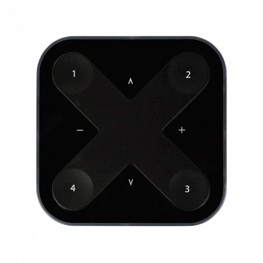 CASAMBI Xpress drahtloser Wandschalter mit Magnethalterung Schwarz 1