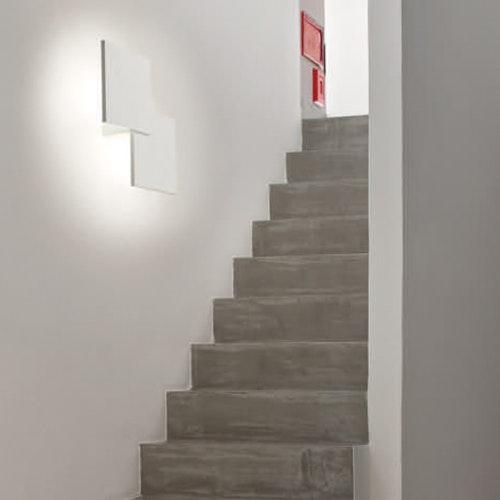 Lodes Puzzle Double eckig 30cm LED Wand- & Deckenleuchte 2