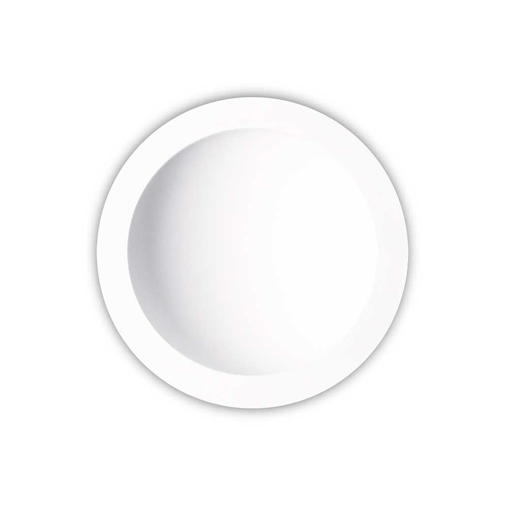Mantra Cabrera LED-Einbau-Wandleuchte Weiß 22cm 2