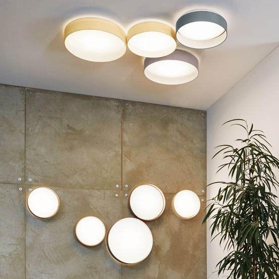 Palo LED Decken- & Wandleuchte Ø 32cm Creme 2