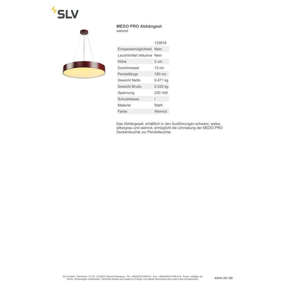SLV Medo Pro Abhängeset weinrot 3