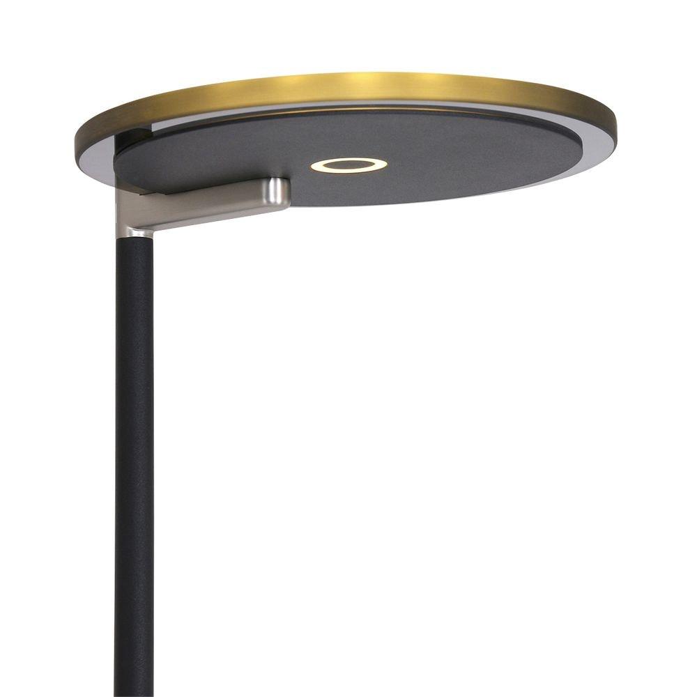 Steinhauer LED-Deckenfluter Turound LED mit Lesearm Tastdimmer 2700K thumbnail 4