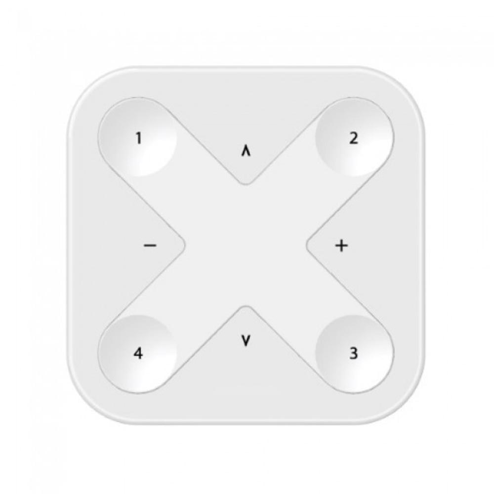 CASAMBI Xpress drahtloser Wandschalter mit Magnethalterung Weiss