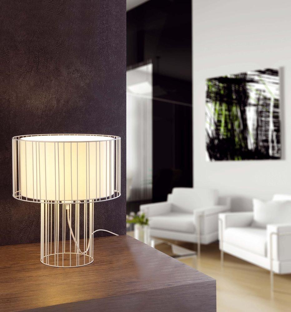Tischlampe LINDA Weiß 3
